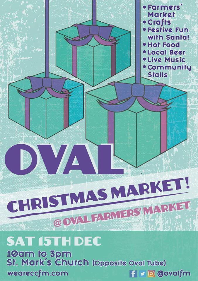 Oval Christmas Market