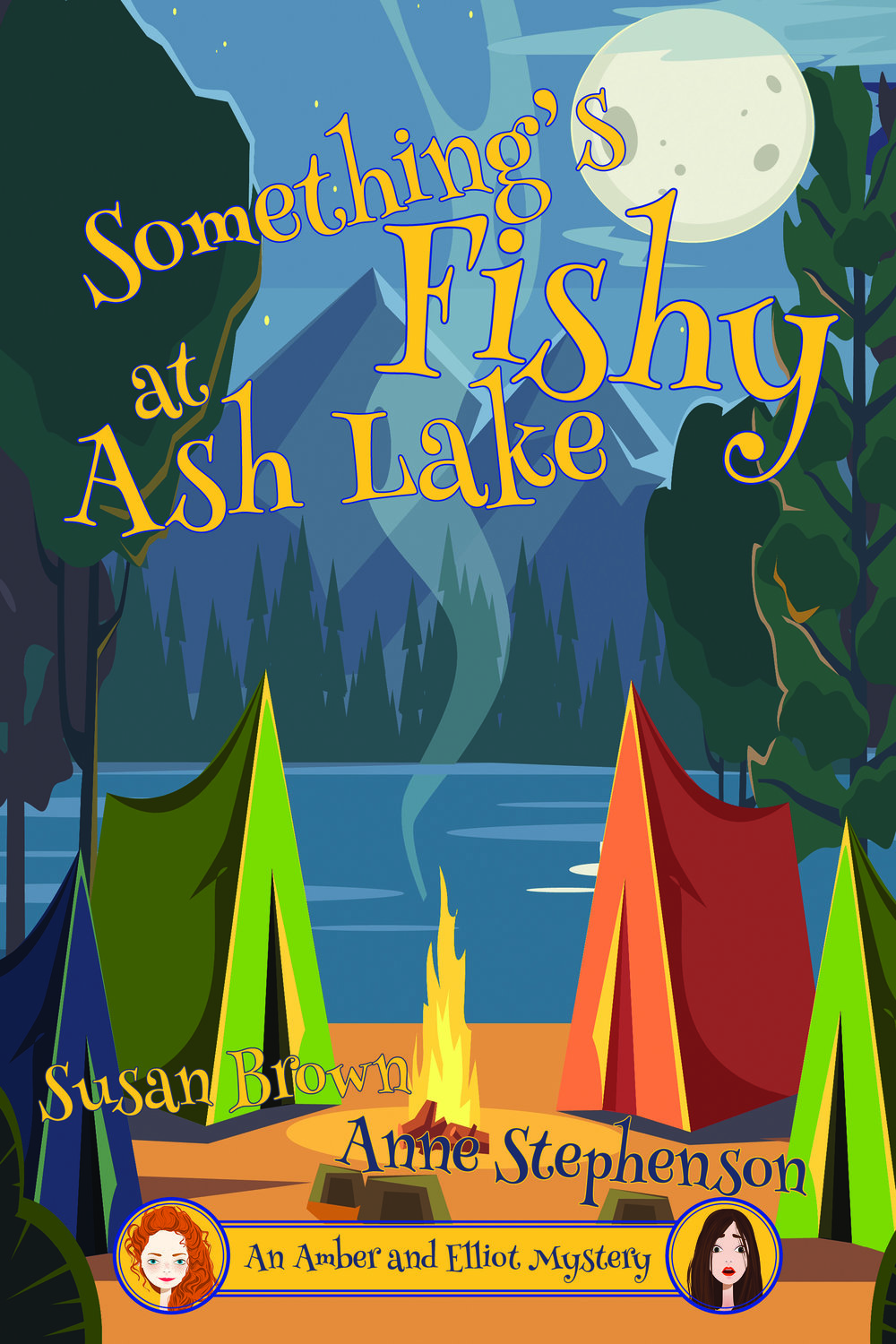 Something's Fishy at Ash Lake Susan Brown Anne Stephenson