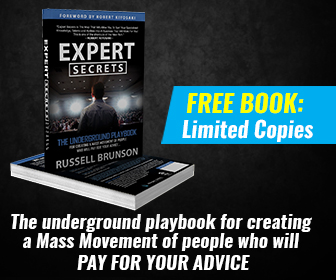 """""""Expert Secrets is the map that will allow you to turn your specialized knowledge, talents and abilities into a business that will work for you! This is one of the shortcuts of the New Rich."""" —Robert Kiyosaki, author of Rich Dad Poor Dad: What The Rich Teach Their Kids About Money That the Poor and Middle Class Do Not!"""