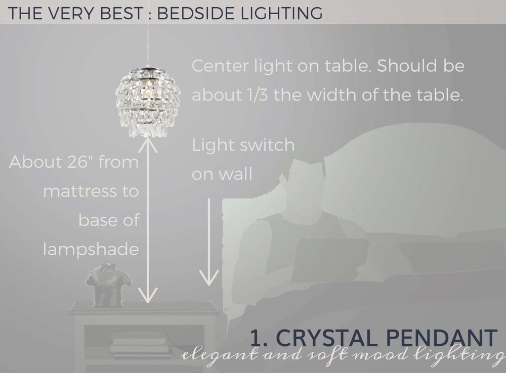 The very best hard wired crystal pendant | Pig + Tiger Renovation