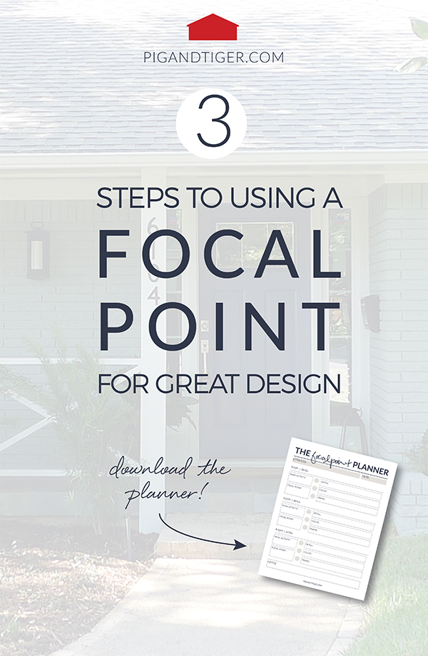 3 Steps to using a focal point for great design