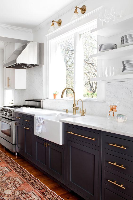 Elizabeth Lawson Tuxedo Kitchen