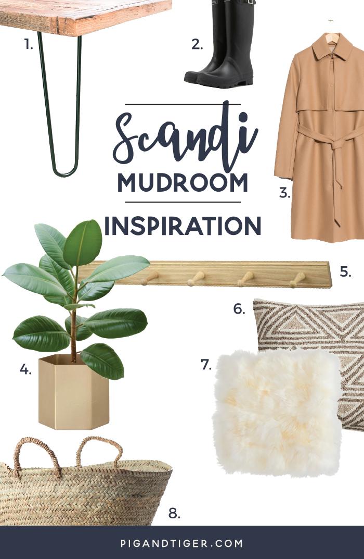 Scandi Mudroom