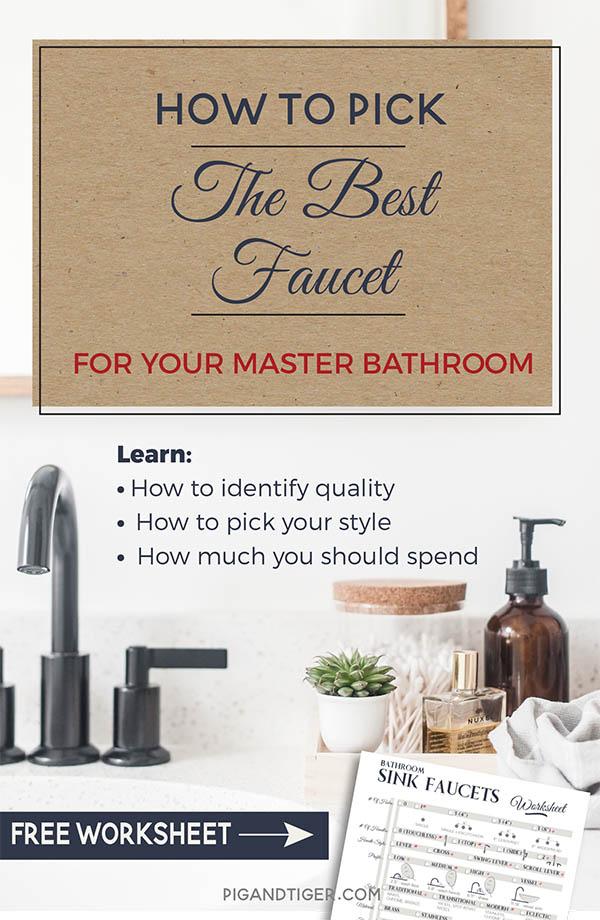 Best Master Bath Faucet