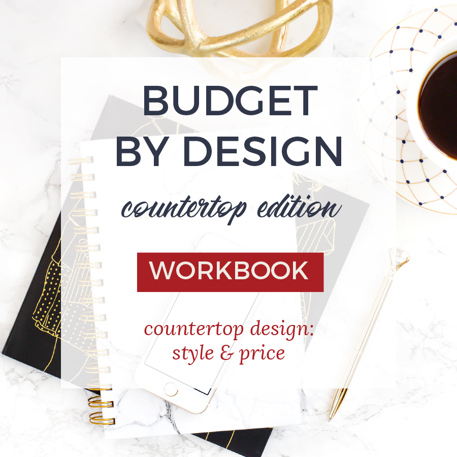 Budget by Design - Countertops