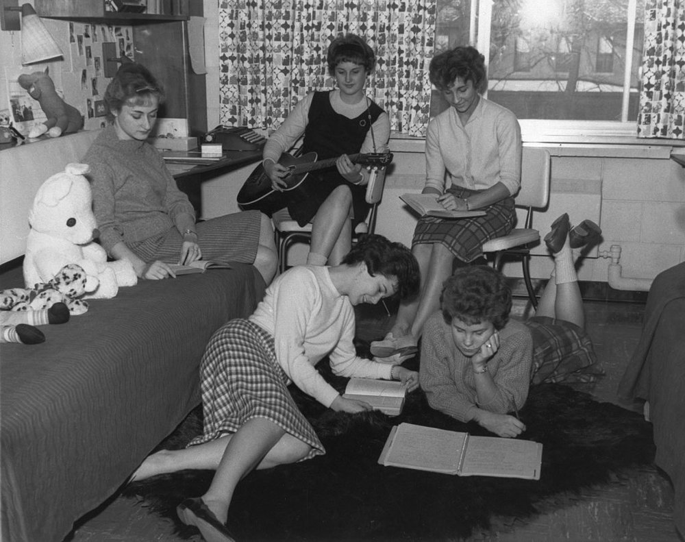 The Electoral College Meets in Their Dormitory to Cast Their Votes in the Kennedy/Nixon Contest