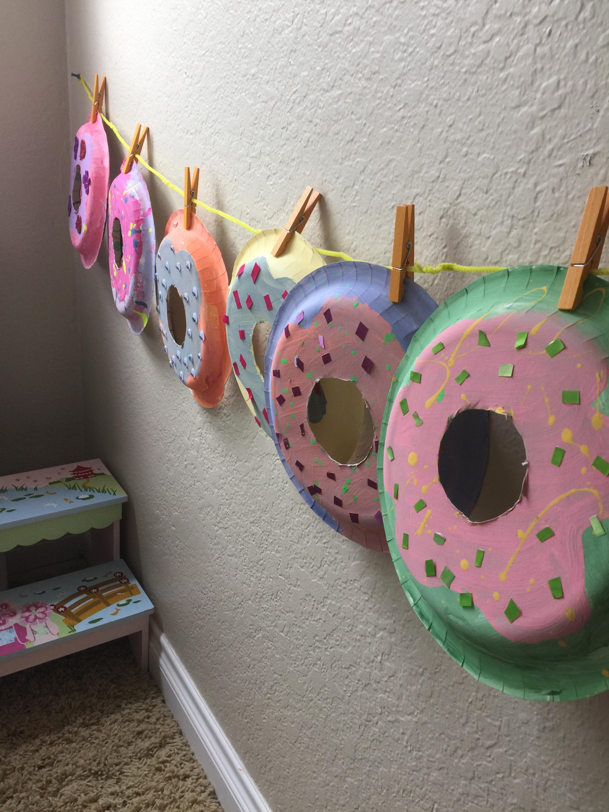 Paper Plate Donuts & Hanukkah Paper Plate Menorahs u2014 Squirmy Wormy Childrenu0027s Books u0026 Mom ...