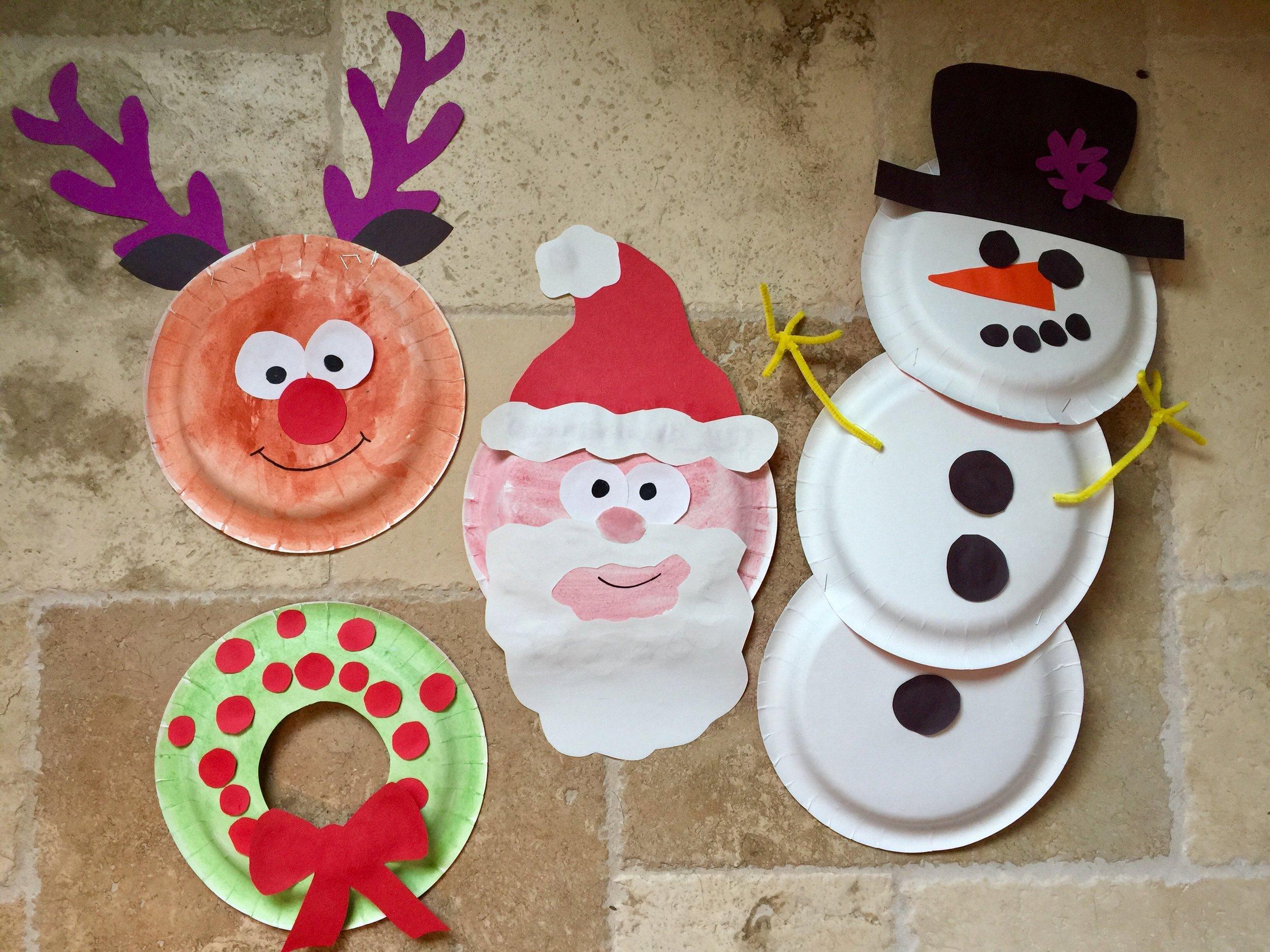 5 Christmas Paper Plate Designs & 5 Christmas Paper Plate Designs u2014 Squirmy Wormy Childrenu0027s Books ...