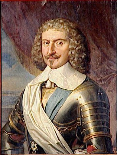 François-Annibal d'Estrées, Portrait by Paulin Guérin. What a fine mustache.