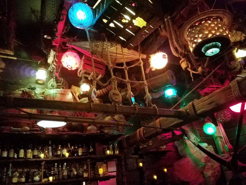 The beautiful interior of Smuggler's Cove