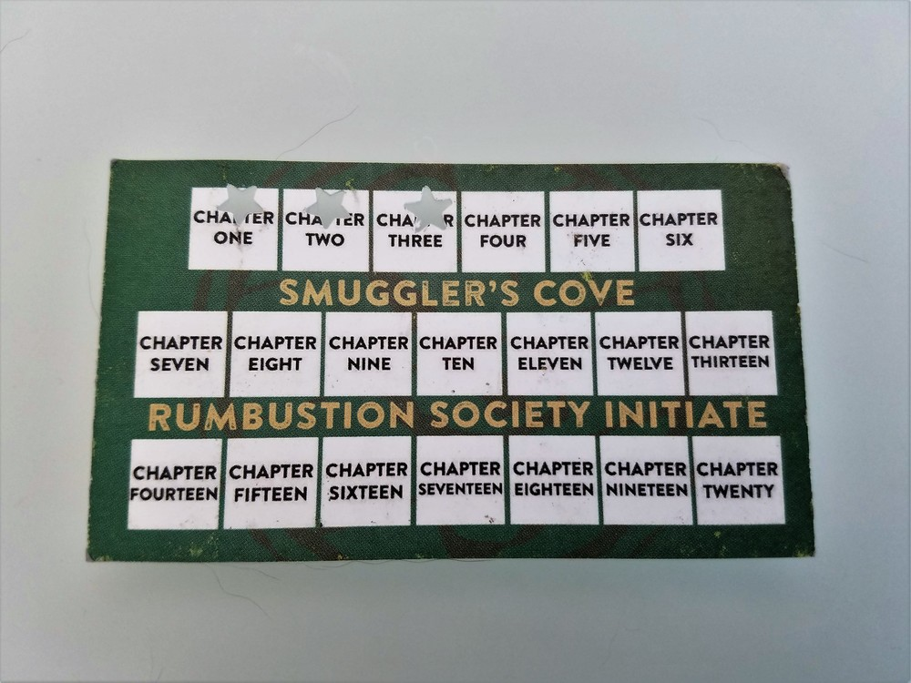 The Rumbustion Society punch card