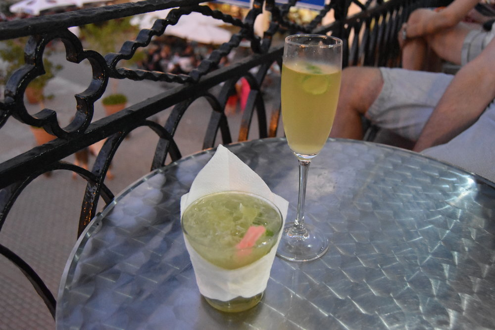 Caipirinha and French75