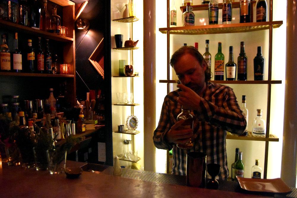 Standing Room Only - bartender Aaron