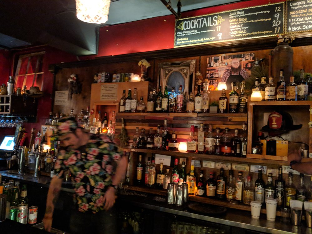 Firehouse Lounge and their tropically-clad bartenders (it's an inside joke among the bartenders)