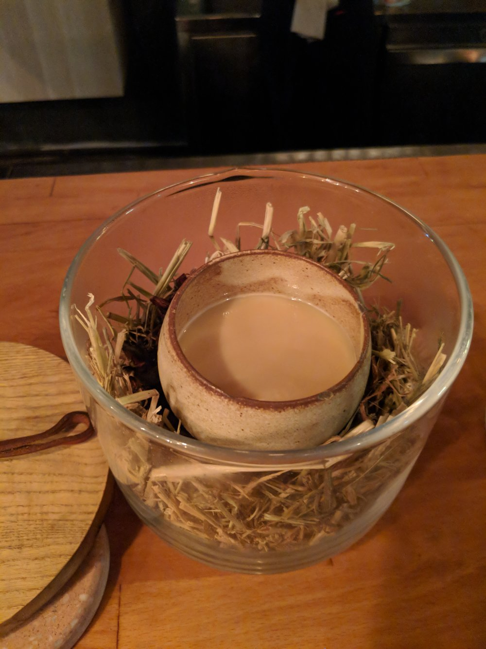 Egg 2014 with salted hot buttered rum