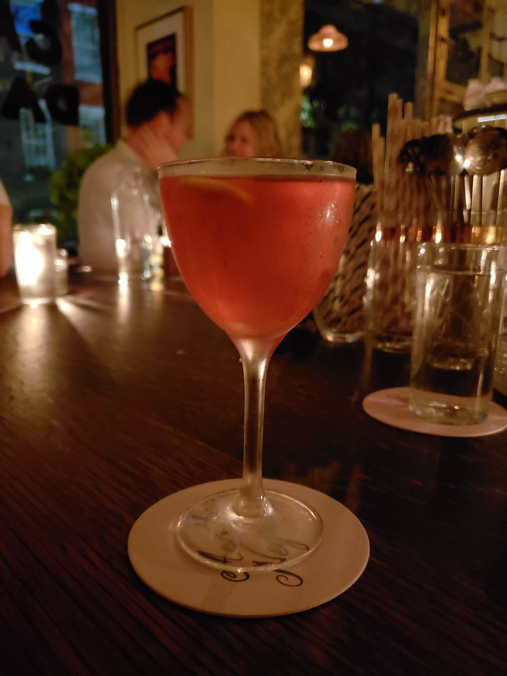 Unlikely Negroni - our recommendation from Dante.