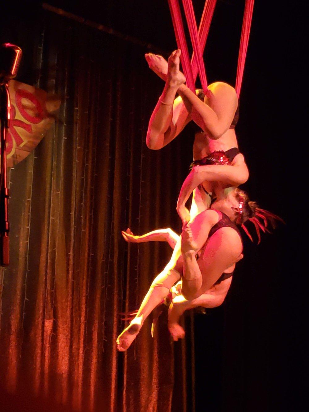 Aerial performers