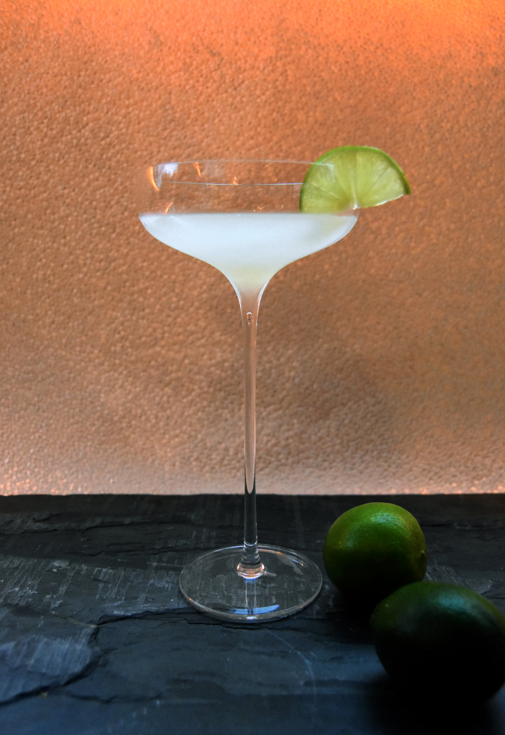 White rum daquiri - made with J Wray