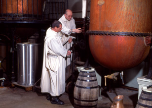 Monks mixing botanicals?