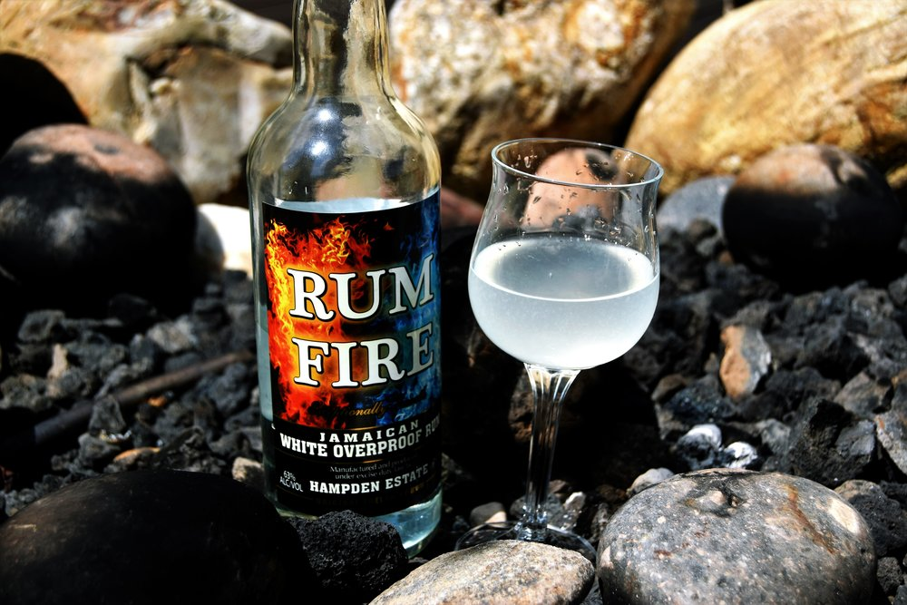 Fire fire - a Rumfire cocktail