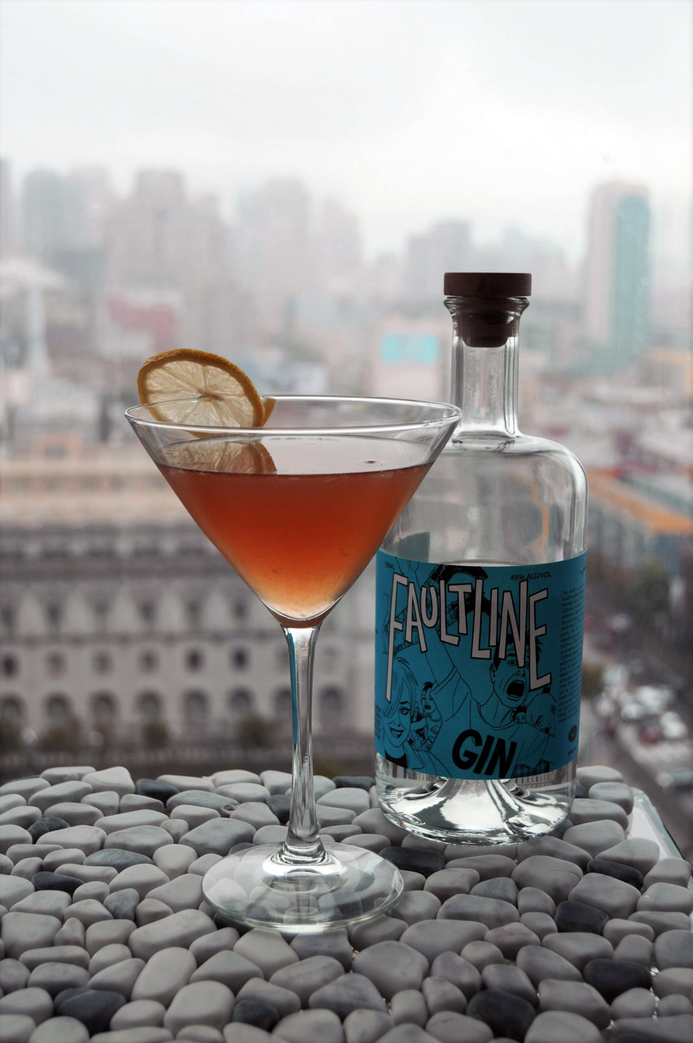 Faultline Gin Cocktail