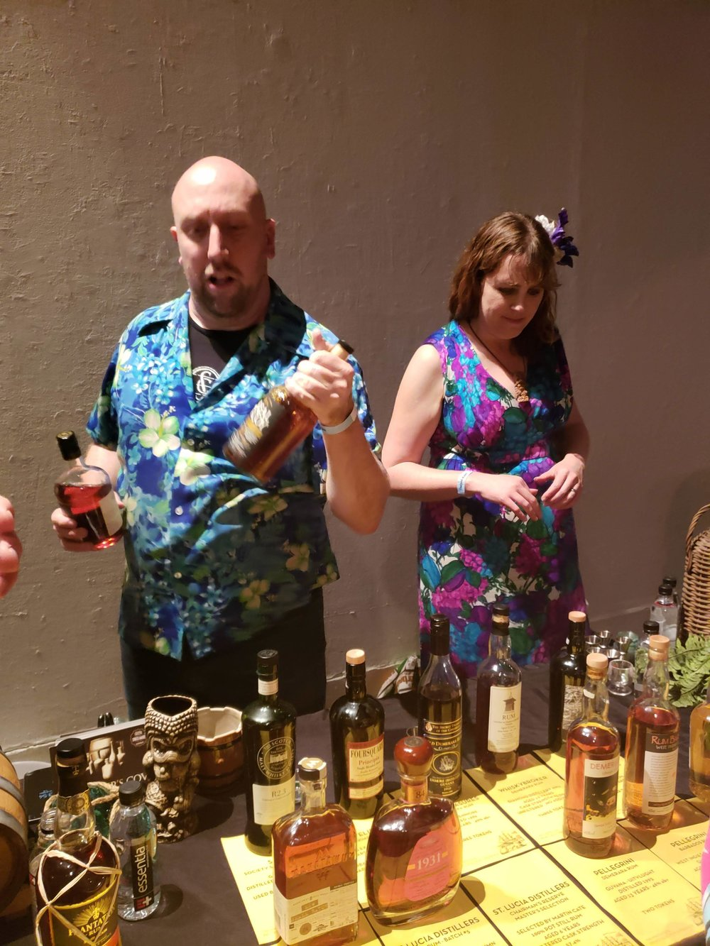 Martin Cate will pour you some delicious rums