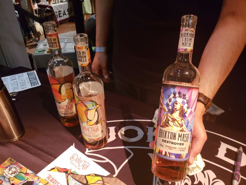 Interesting concept by Dovetail: bourbon and rum blend