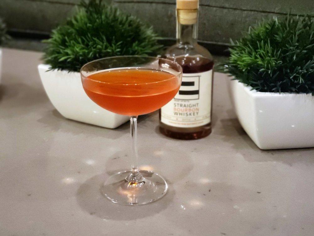 Exene Bourbon Cocktail