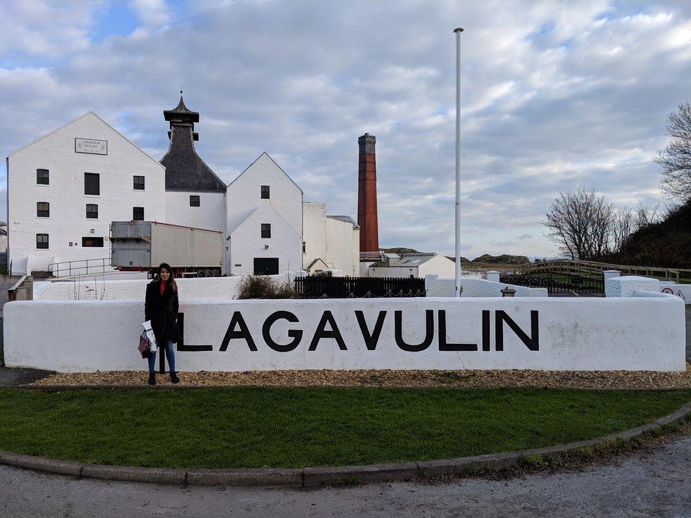 Visiting Lagavulin