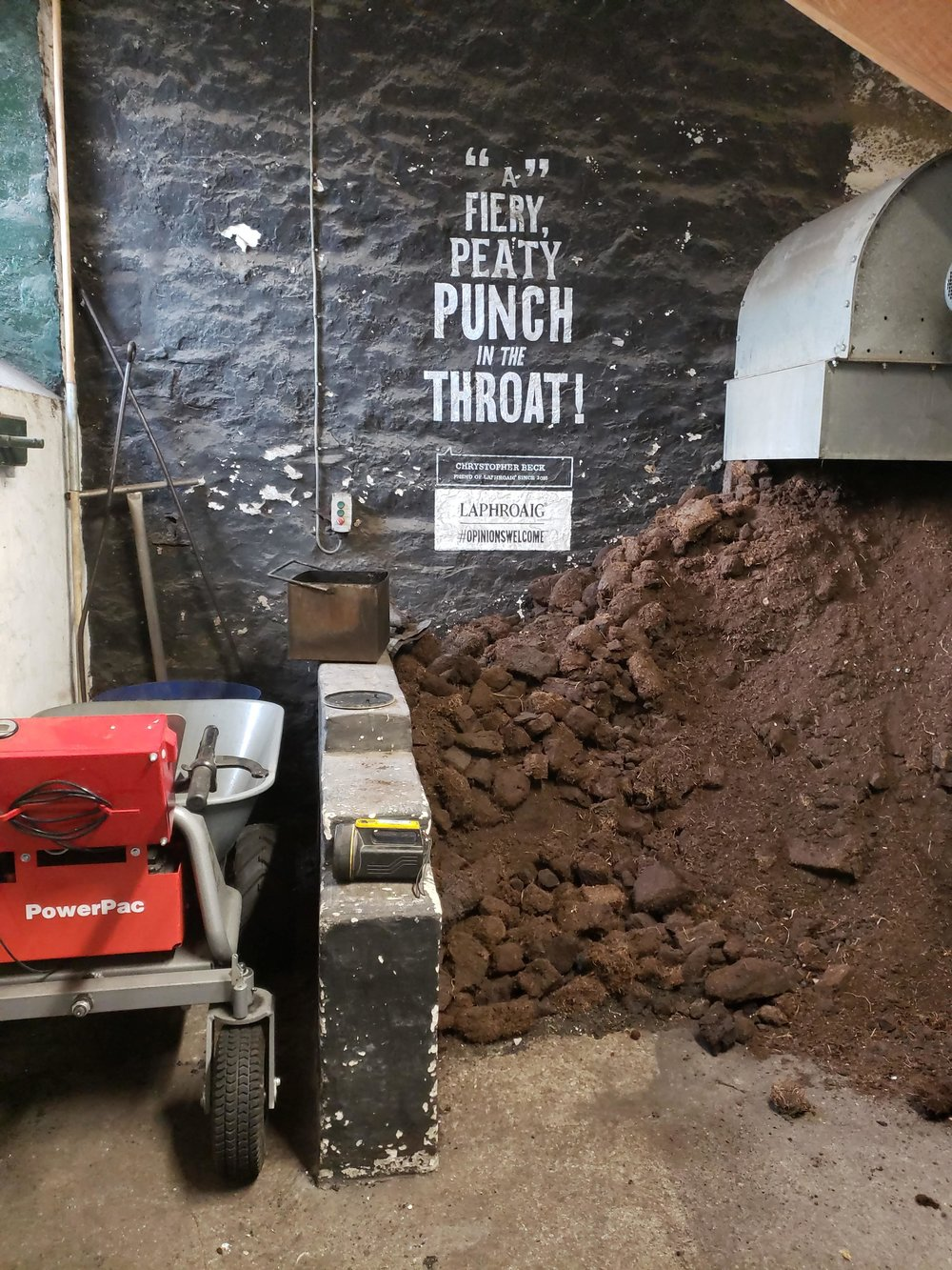 Hand-cut peat and Laphroaig's genius marketing campaign: embrace the peat!