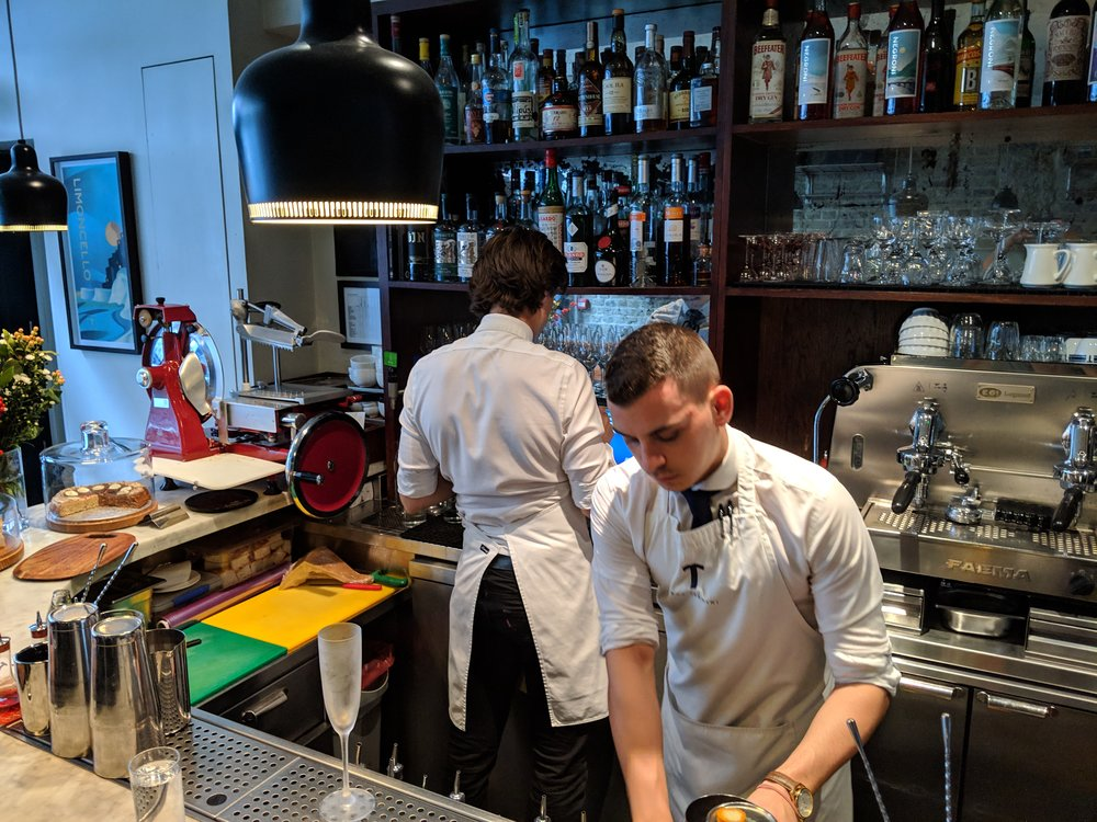 Our New Best Friends: the Czechoslovakia Mafia at the Bar Termini