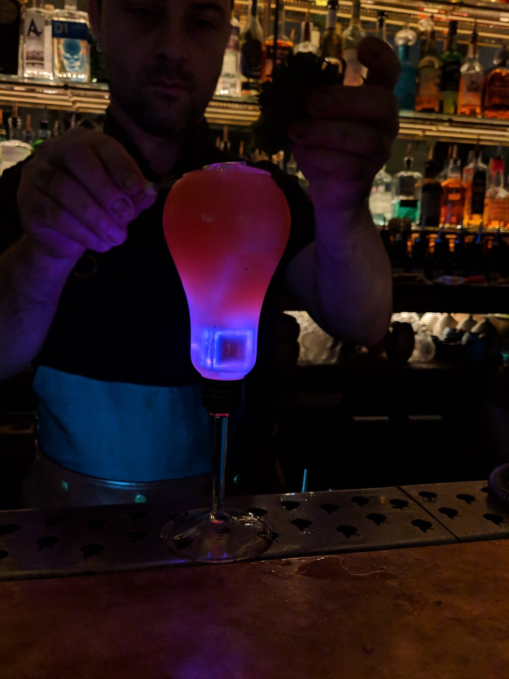 I don't know what cocktail this is, but it looks AWESOME