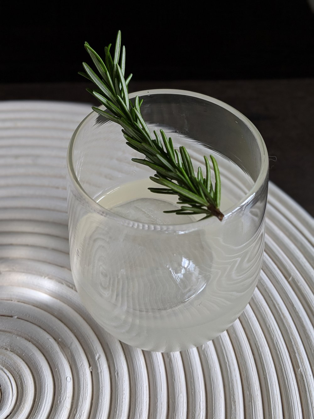 Clarified Gin Milk Punch
