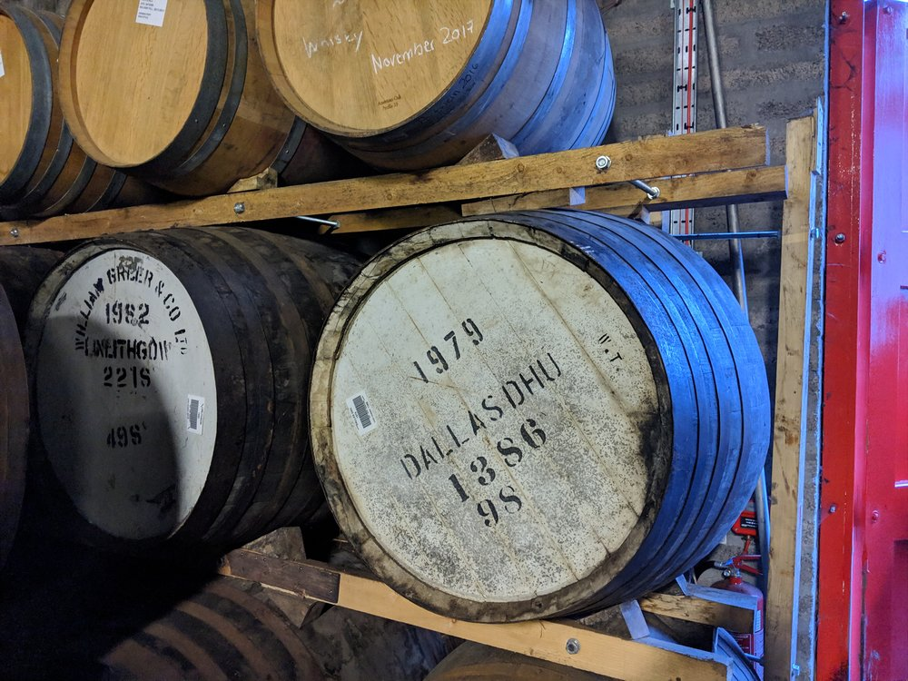 Our requests for an impromptu Dallas Dhu 1979 cask tasting were not honored.