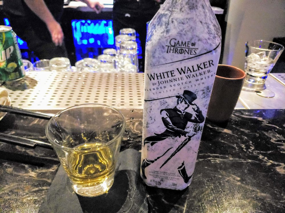 White Walker - served Room Temperature in a small glass