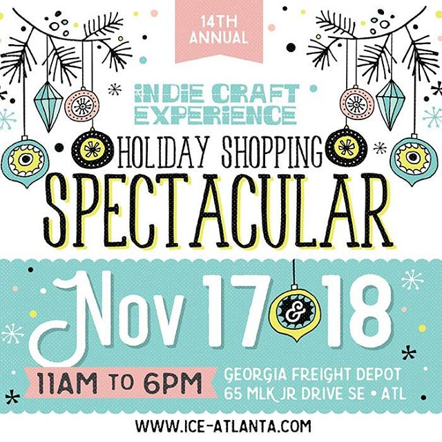 Catch us this weekend for our favorite holiday market of the year! We're pulling all new inventory so make sure to stop by to get first dibs! We'll be in booth 2 next to the DJ at the entrance! Come see us! 💖