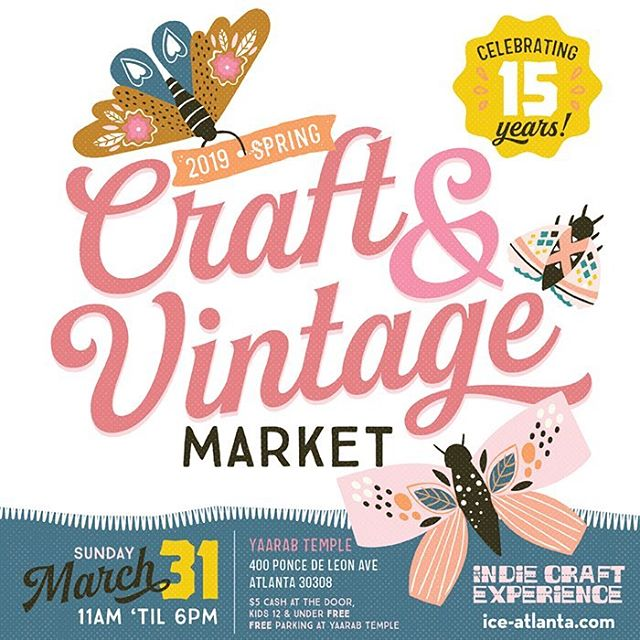 Omg! Our first market of the year is happening this Sunday! We're so excited to be sharing the booth with our friend @peachpopstitch and launching a special collabo collection that you can only grab at the market! She'll be doing flash embroidery in the booth and we'll have a super fresh spring collection ready for you to scoop up! Come see us! 🌸