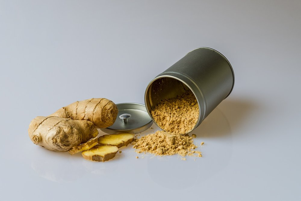 Use ginger powder or ginger root to improve digestion.