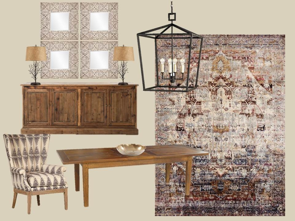 Stash Home (Memphis) Inspiration Board With Our Brittany Table