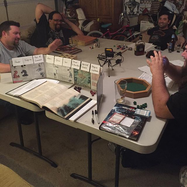 Is Tuesday Throwback a thing? We're old people here at Plus One to Hijinks. Anywho, here's a behind the scenes from the final battle of the Hunter Takes the Helm arc! #hijinkscast #nohalflings