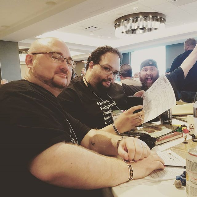 The Hijinks Crew doing what they do best. #kublacon #dungeonsanddragons