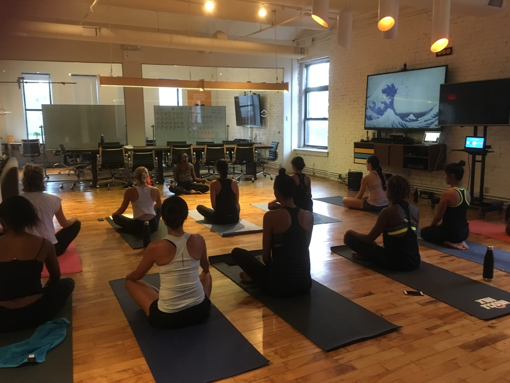7/28/2016 Yoga: RUNNER Rx Pop-up at Enjoy House