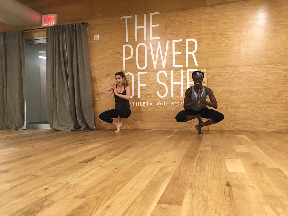 The Studio inside Athleta Flatiron 8/6/16