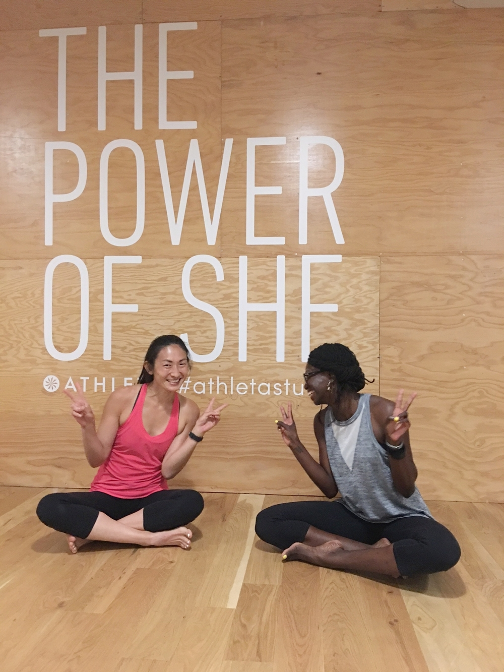"""Thank you SO much for the great yoga class!! It was just what I needed!  My body was so achy and stiff from sitting all day at work and on the amtrak!   8/15/16 Mellow Mondays: GENTLE at Athleta Flatiron"