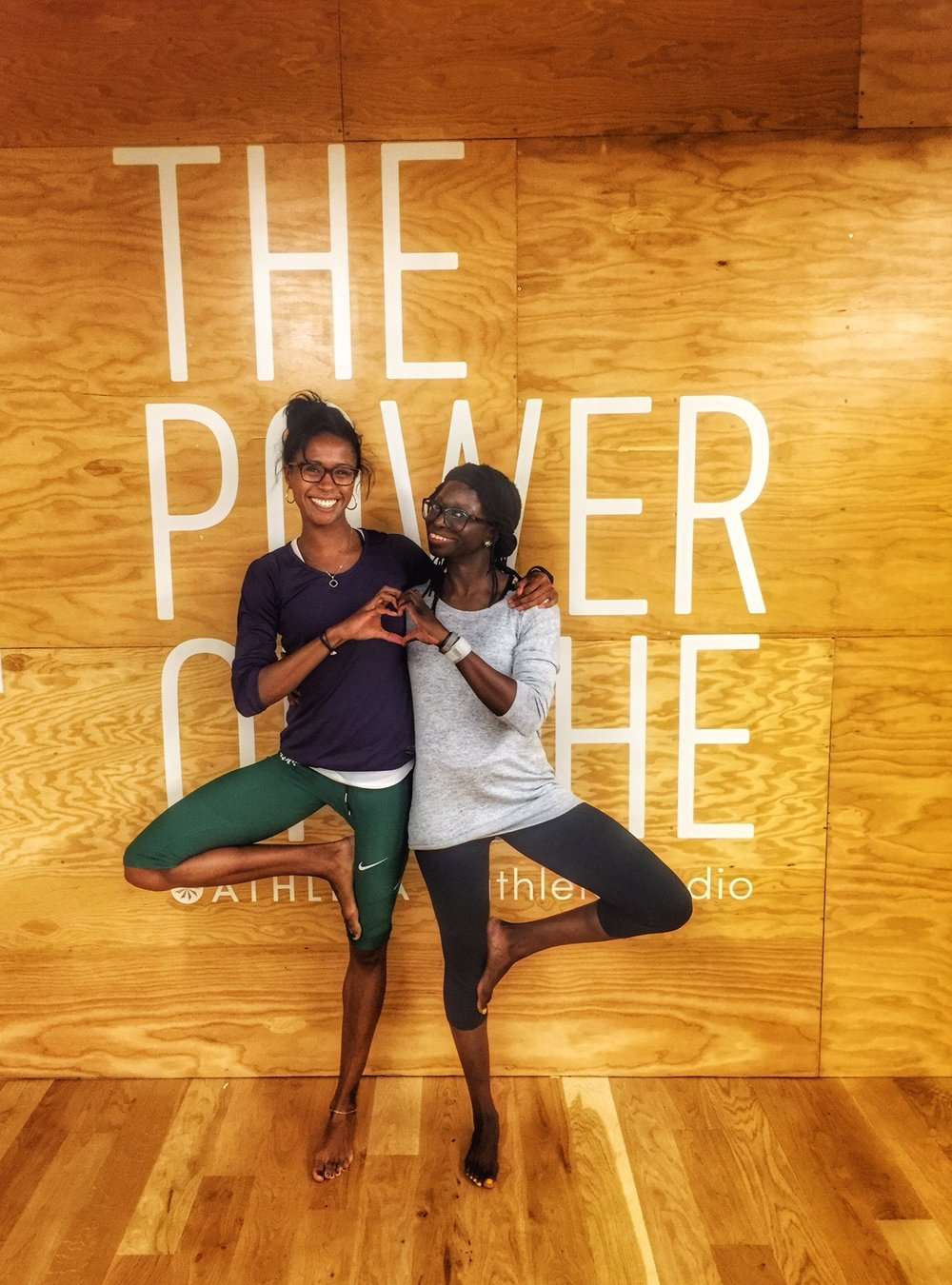 """Thanks for a great class!""  9/12/16 Mellow Mondays: GENTLE at Athleta Flatiron"