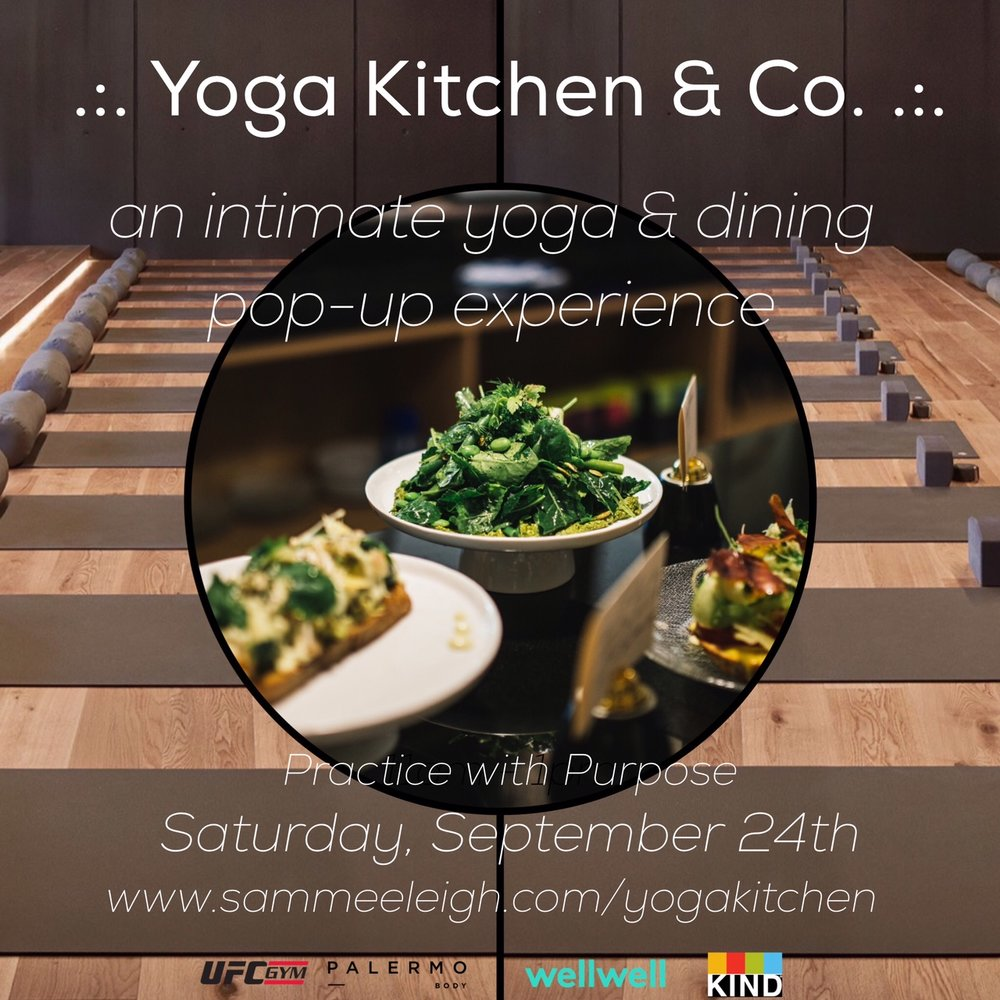 9/24/16 Yoga Kitchen & Co. Launch