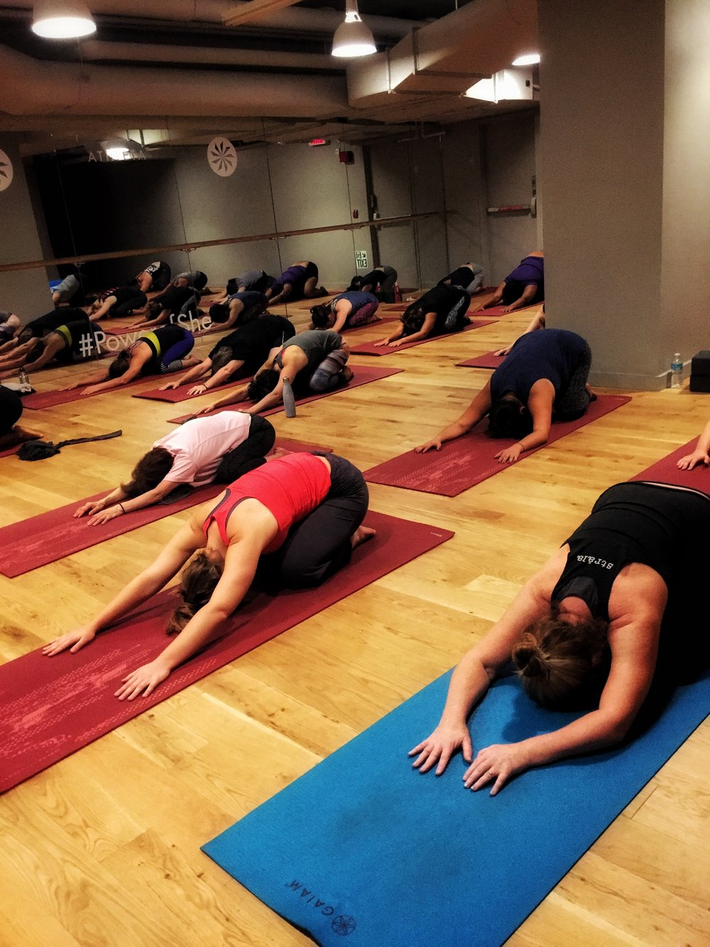 9/26/16 Mellow Mondays: GENTLE at Athleta Flatiron