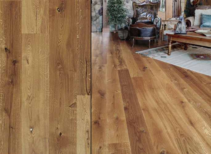 Engineered Unfinished Wood Flooring, Character Grade, Unfilled Character - Character Grade, Unfinished €� Southern Wood Floors Mill Specials