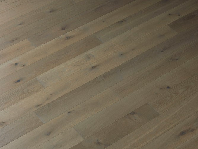 Rustic Grade Engineered Prefinished Oak Wood Flooring Dune Hard Oil finish