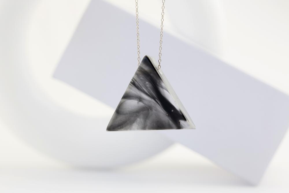 Jose Anglada Jewelry-Bauhaus-Necklace-Triangle